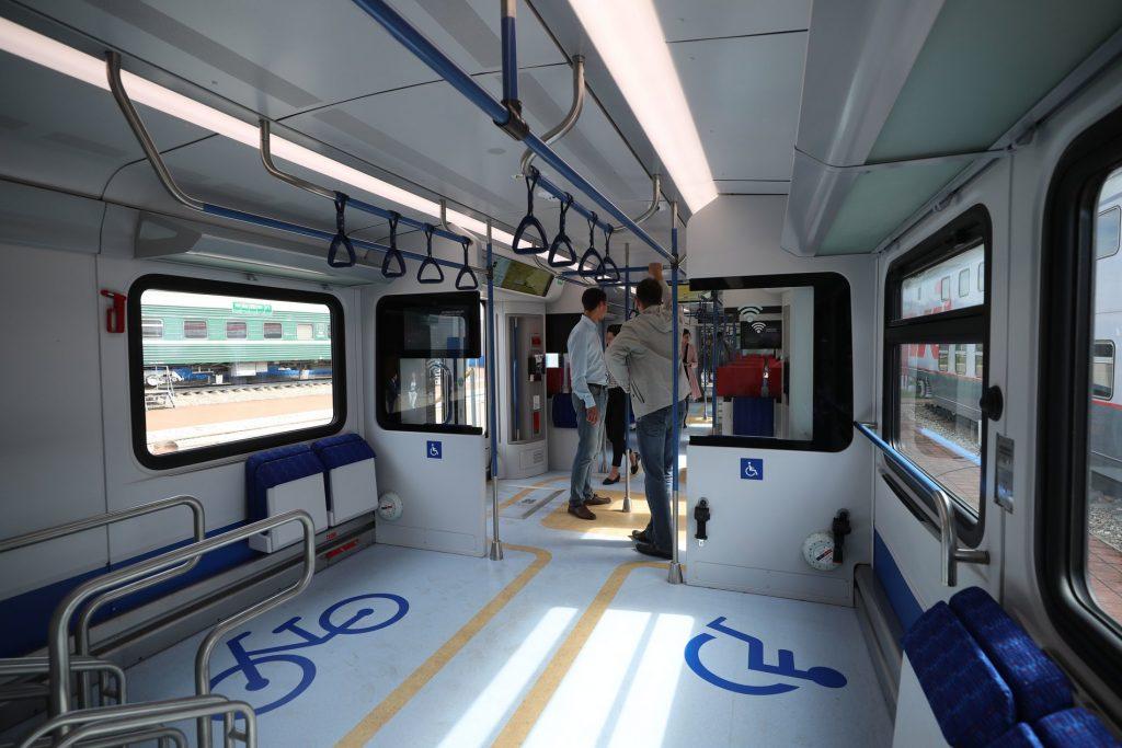 места для велосипедов в поезде иволга